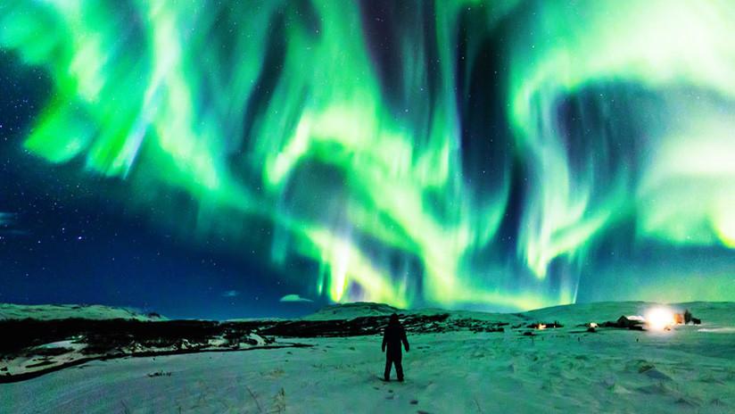 """""""¿Alguna vez ha visto un dragón en el cielo?"""": La NASA publica la espectacular imagen de un 'dragón polar' (FOTO)"""