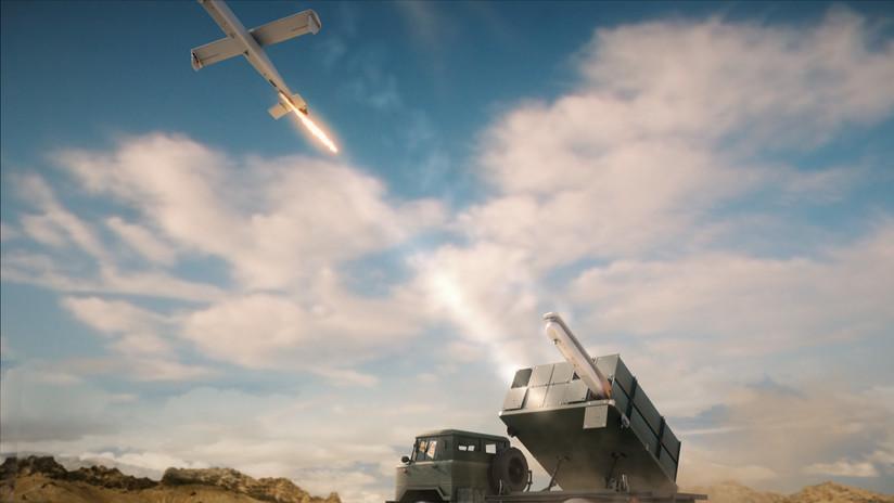 VIDEO: Israel 'destruye' helicópteros rusos en la presentación de un sistema de defensa antiaérea