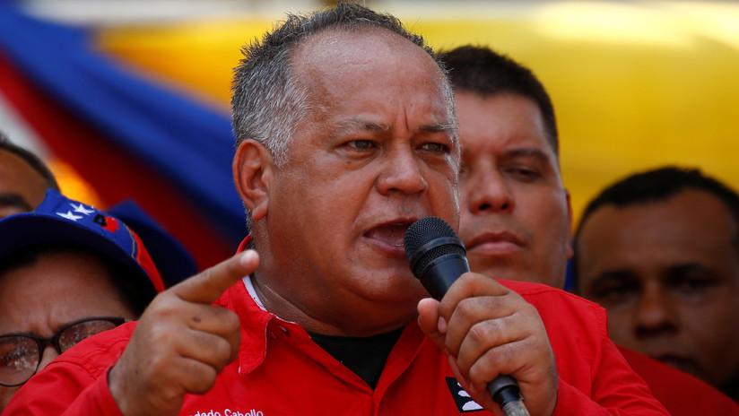 """Diosdado Cabello a EE.UU.: """"A Venezuela podrán entrar pero no van a salir"""""""