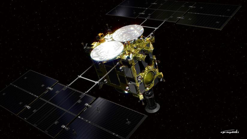 VIDEO: Una sonda japonesa aterriza sobre el asteroide Ryugu para investigar los orígenes del Sistema Solar