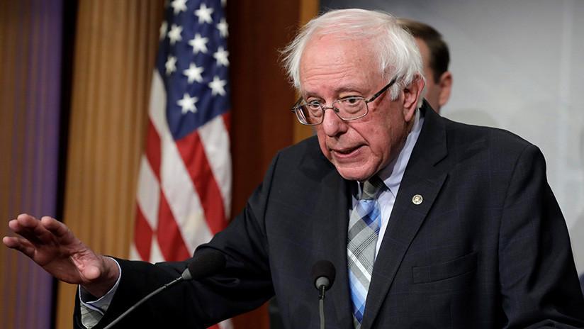 Demócratas arremeten contra Bernie Sanders, que se niega a reconocer a Guaidó como líder de Venezuela