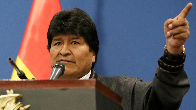 """""""Un caballo de Troya"""": Evo Morales denuncia que la ayuda humanitaria en Venezuela será usada para provocar una guerra"""
