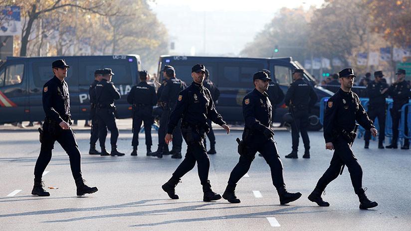 Siete detenidos en el desahucio de cuatro familias en el centro de Madrid (VIDEOS)