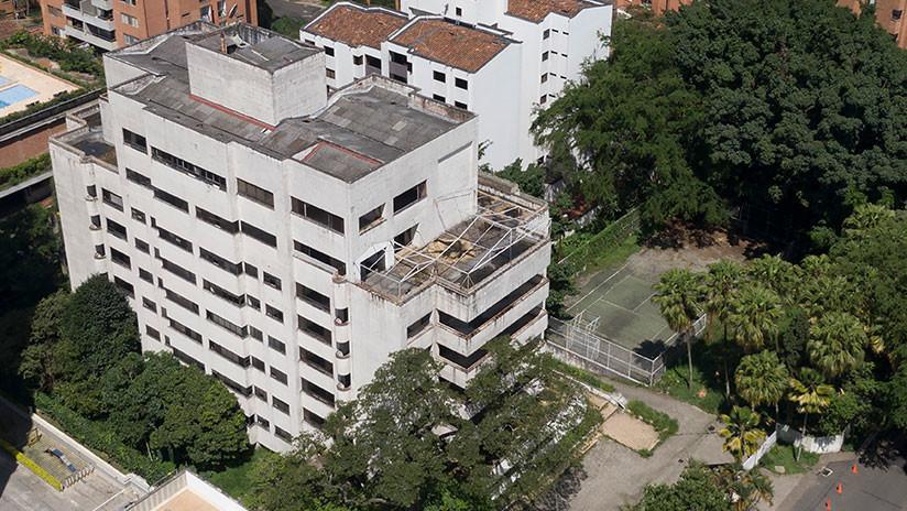 VIDEO: Colombia derriba el edificio Mónaco, un símbolo del narco y la fortaleza de Pablo Escobar