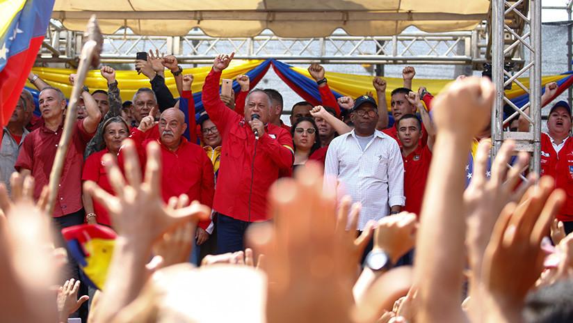 """Diosdado Cabello a EE.UU.: """"Están muy equivocados si creen que nos rendiremos"""""""
