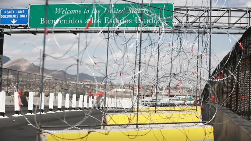 VIDEO, FOTOS: Así son las barricadas de alambre colocadas por EE.UU. en su frontera con México