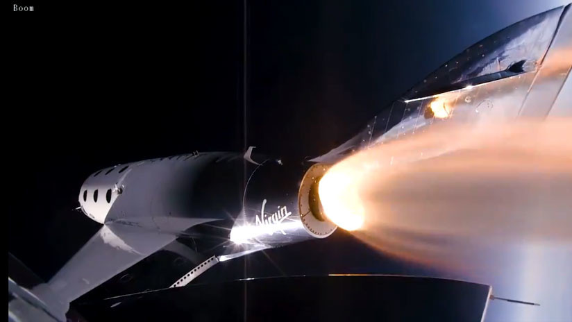 Viaja al espacio la primera pasajera a bordo de un vuelo comercial