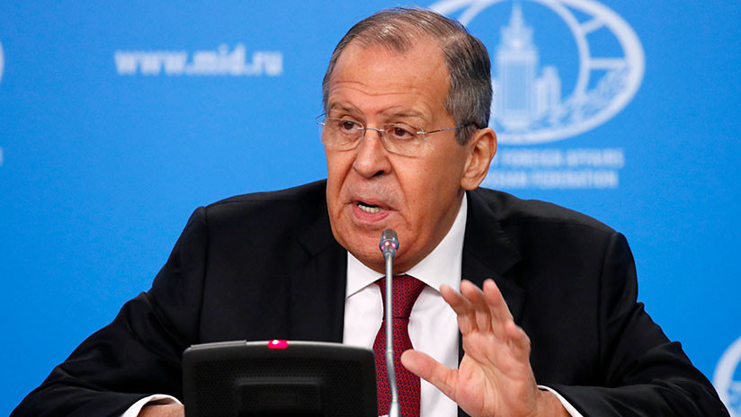 """Lavrov: """"Los que ahora tratan de dictar la política de EE.UU. sobre Rusia no quieren ninguna mejora"""""""