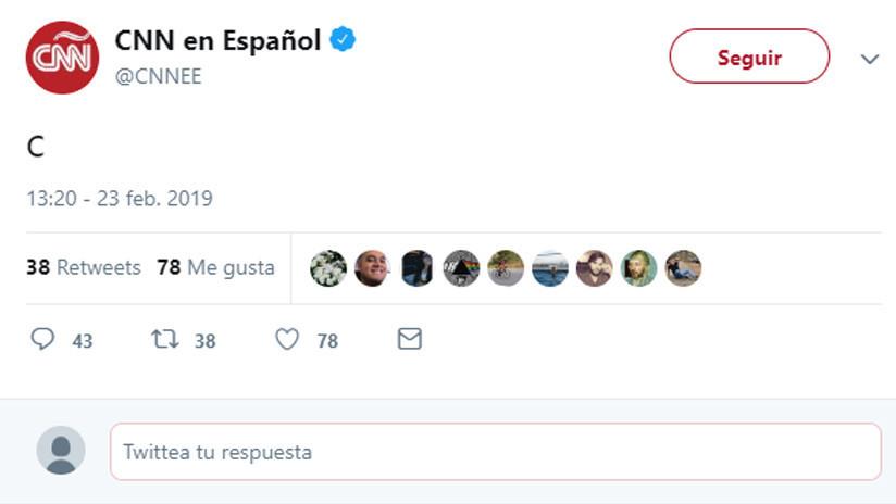 La CNN en español publica un enigmático tuit y los internautas intentan descifrarlo