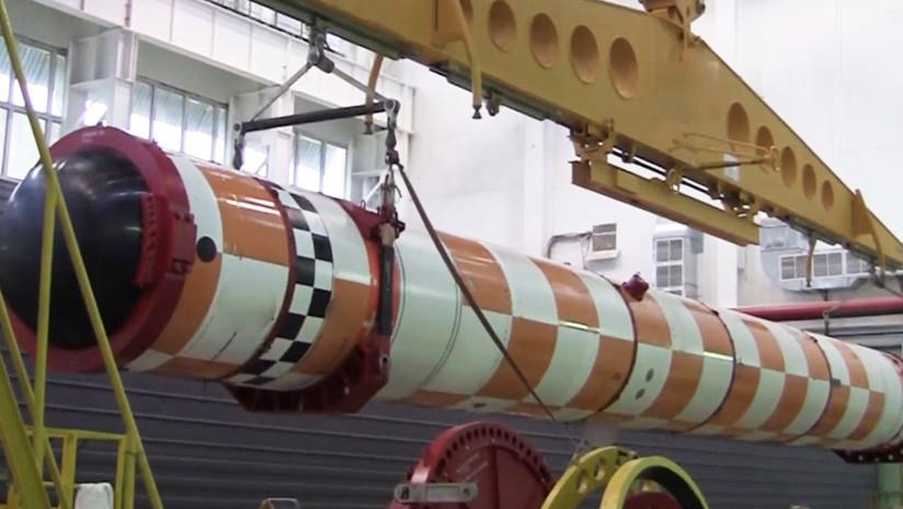 """Expertos de EE.UU. ven en acción el sistema naval ruso Poseidón y lo apodan """"torpedo del apocalipsis"""""""