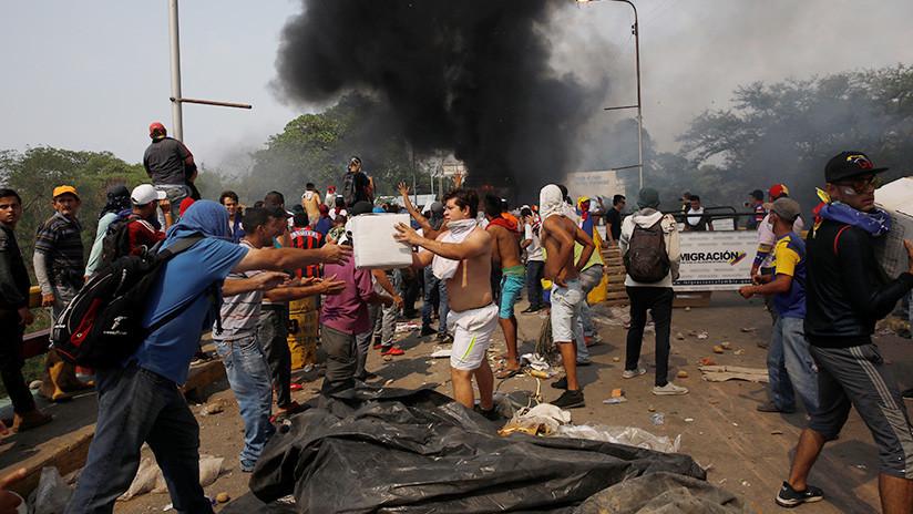 Los episodios de violencia en la frontera entre Venezuela y Colombia dejan casi 300 heridos