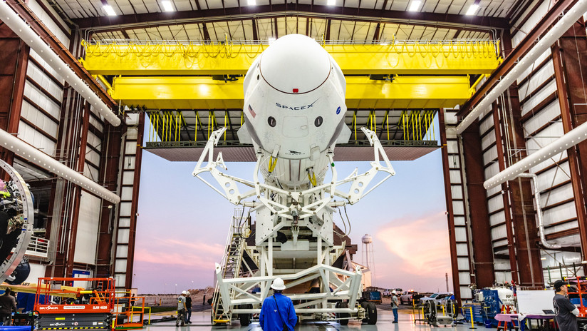 La Nasa y SpaceX ultiman detalles en la nave Crew Dragon, que volará al espacio sin tripulantes