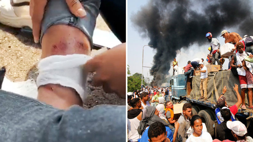 Hieren a fotógrafa chilena de un proyecto de RT durante enfrentamientos en la frontera colombo-venezolana
