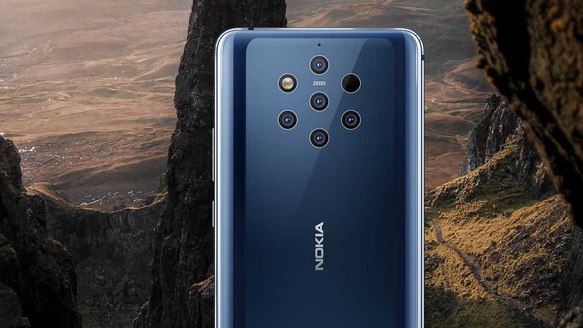 Nokia lanza el primer 'smartphone' con seis cámaras: ¿Para qué tantas?