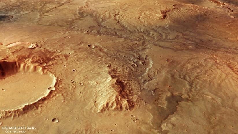 FOTOS: Encuentran evidencias de que vastos ríos fluían en forma de árbol a través de Marte