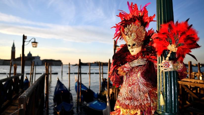 La majestuosidad del Carnaval de Venecia en imágenes