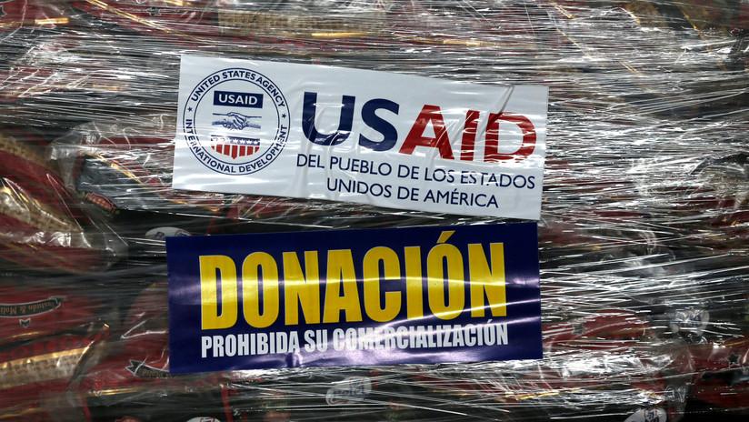 """China tacha la """"ayuda humanitaria"""" de EE.UU. a Venezuela de """"interferencia en sus asuntos internos"""""""