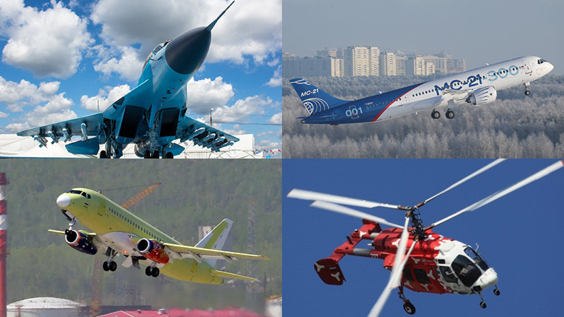 FOTOS, VIDEO: Siete aeronaves rusas que aterrizarían pronto en la cesta de la compra de la India