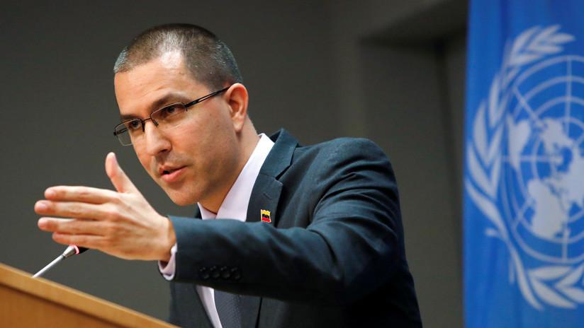 """Canciller venezolano: """"No vamos a permitir una intervención, resolveremos nuestros problemas"""""""