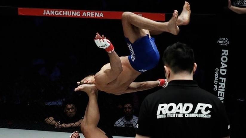 VIDEO: Los espectaculares movimientos al estilo ninja del brasileño 'Demoledor' dejan atónitos a los fanáticos de las MMA