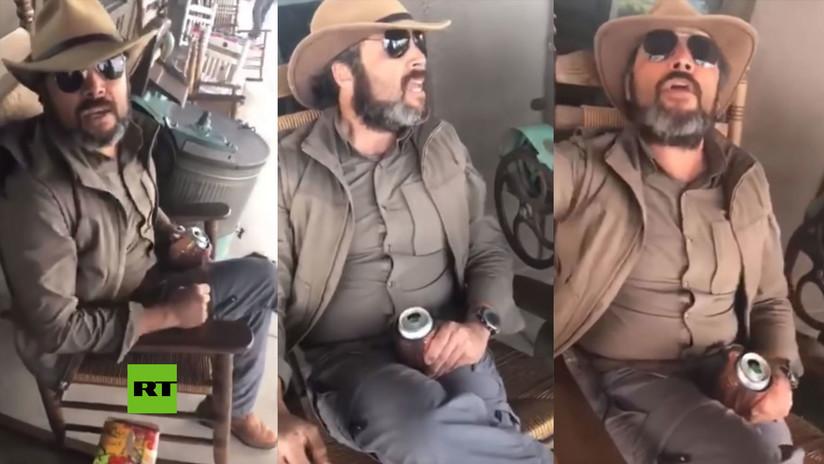 """""""Esto es EE.UU., hable inglés"""": Arremete contra una mujer que hablaba español en una ciudad fronteriza de Texas (VIDEO)"""