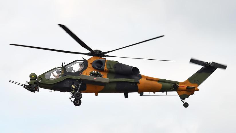 Turquía avanza en la producción de un helicóptero militar de ataque pesado