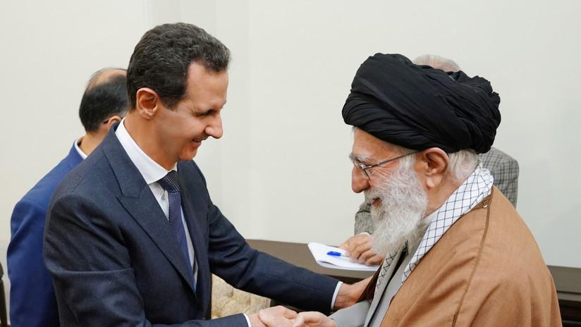 FOTOS, VIDEO: Assad se reúne con los líderes de Irán por primera vez en ocho años desde el inicio del conflicto en Siria