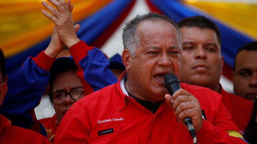 Cabello sobre Pence: EE.UU. envió a uno de sus últimos halcones para intentar acabar con la Revolución Bolivariana