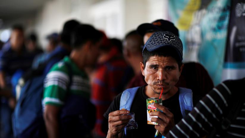 México acoge a 112 migrantes centroamericanos mientras se resuelve su situación en EE.UU.