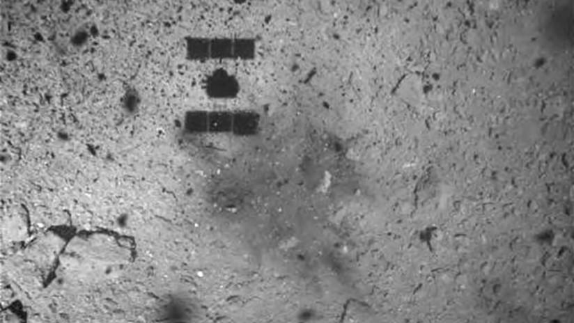 Difunden imágenes de la superficie de asteroide Ryugu después del aterrizaje de una sonda japonesa