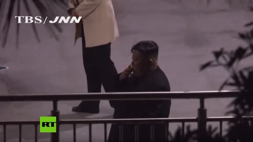 VIDEO: Graban a Kim Jong-un en una plataforma de tren durante su viaje a Vietnam
