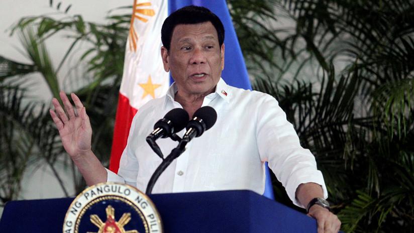 """Duterte: """"El cártel de Medellín ha entrado en Filipinas"""""""