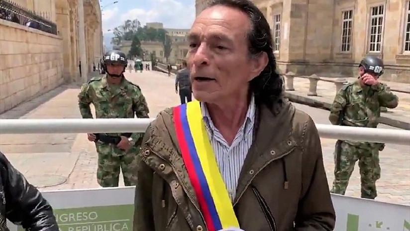 """""""Voy a arreglar con EE.UU. para que saque sus bases militares"""": Un hombre se autoproclama 'presidente' de Colombia (VIDEOS)"""