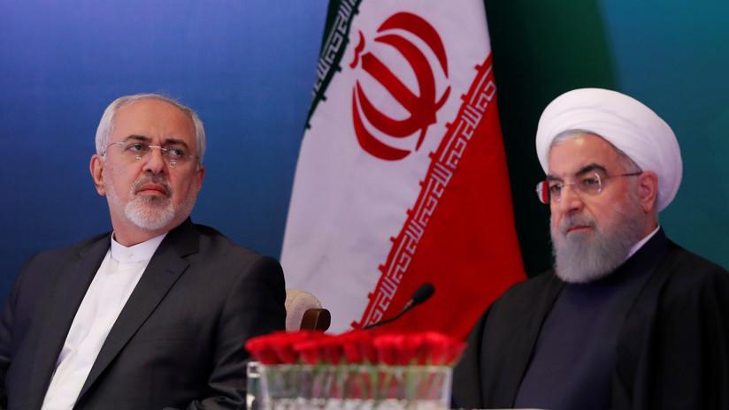 El presidente iraní Hasán Rohaní no acepta la dimisión del canciller Javad Zarif
