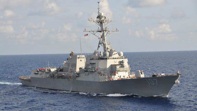 La Flota de Rusia vigila al destructor USS Gravely tras su ingreso al mar Báltico