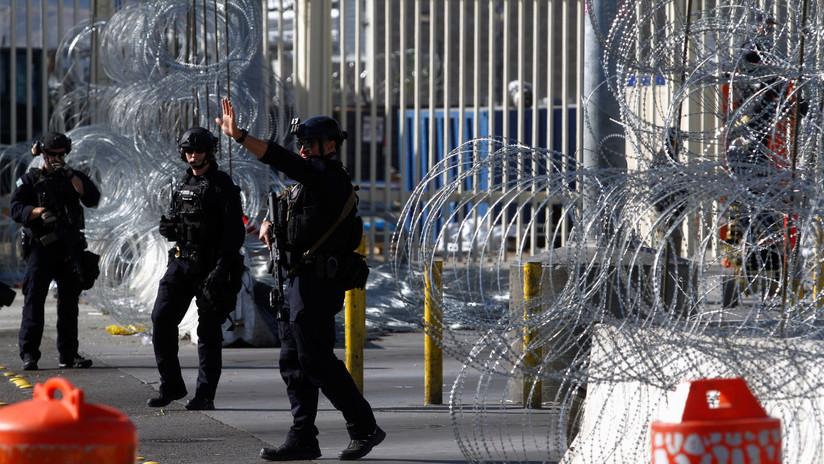 """El Pentágono niega que exista una """"amenaza militar"""" en la frontera con México"""