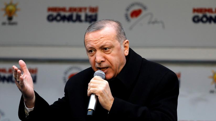 Erdogan refuta las declaraciones de Guaidó sobre la huida de funcionarios venezolanos a Turquía