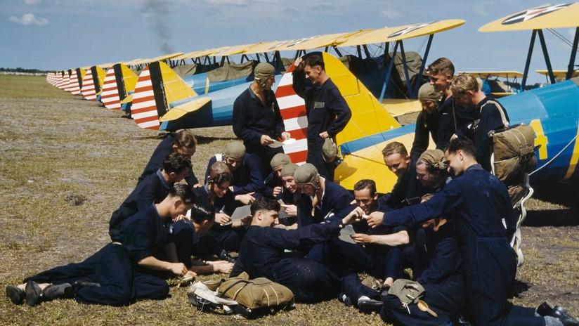 Fotos de la Segunda Guerra Mundial, a pleno color