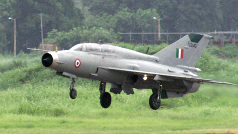 VIDEO: Momento de la caída de una aeronave india, derribada por Pakistán