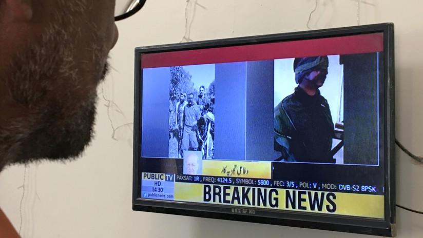 Pakistán publica el primer video de un piloto indio herido y capturado tras el ataque aéreo