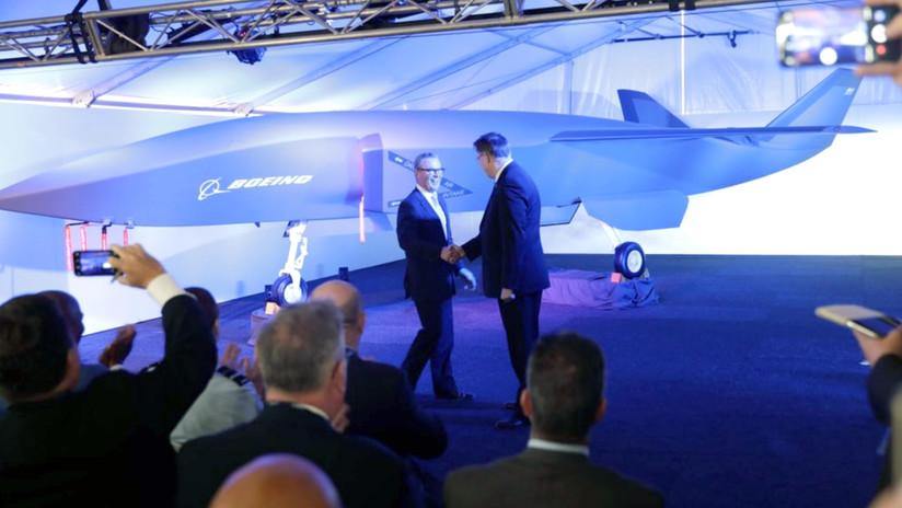 VIDEO: Boeing y Australia presentan un dron desarrollado en secreto para interactuar con cazas convencionales