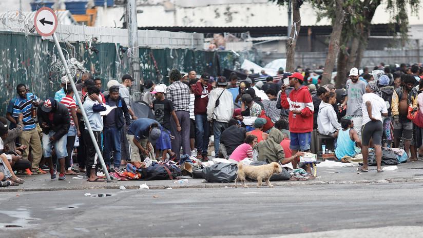 'Tierra del crack': Cómo se vive en el barrio de libre consumo de drogas en Sao Paulo