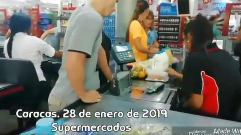 """El turista argentino que grabó el día a día en Caracas: """"No hay una guerra civil, es una estafa mundial el tema de Venezuela"""""""