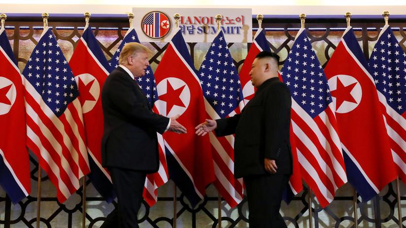 """Trump califica de """"gran reunión"""" su encuentro con Kim Jong-un y """"espera con impaciencia"""" su continuación este jueves"""