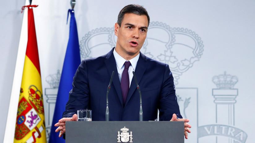 "Pedro Sánchez rechaza ""cualquier solución no pacífica o intervención militar exterior"" en Venezuela"