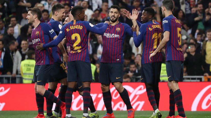 El Barcelona derrota al Real Madrid en la semifinal de la Copa del Rey