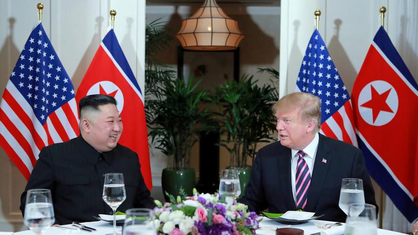 """Kim cara a cara con Trump: """"Si no estuviera dispuesto a desnuclearizar, no estaría aquí"""""""