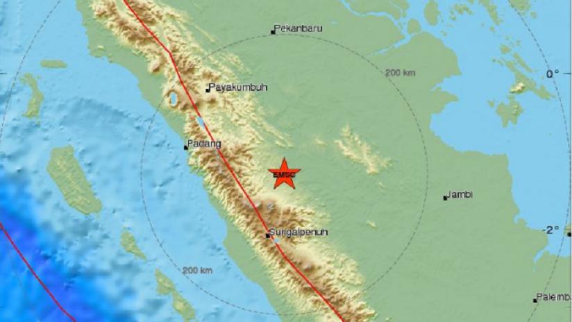 Un sismo de magnitud 5,4 se registra en Indonesia