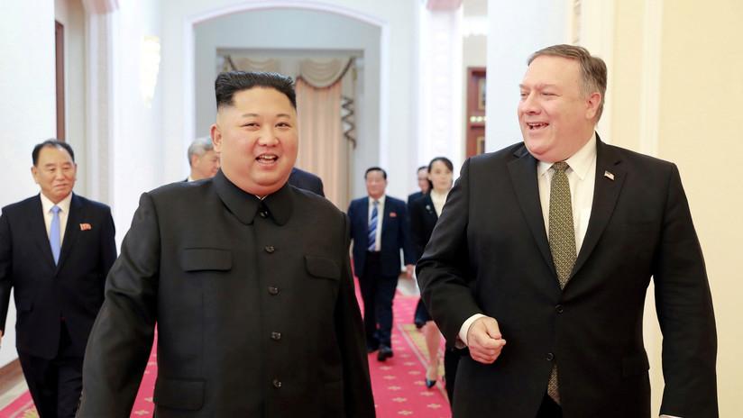 """Pompeo: """"Le pedimos a Kim que hiciera más, pero él no estaba preparado"""""""