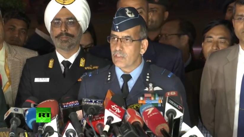 La Fuerza Aérea de la India declara oficialmente que un MiG-21 derribó a un F-16 pakistaní